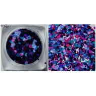 Urban ung 57  Purple & blue glitters
