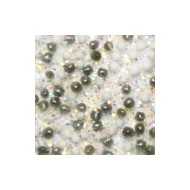 Acryl caviar diamonds pearls