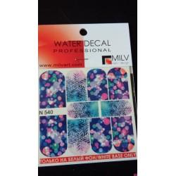 Waterdecal  n540